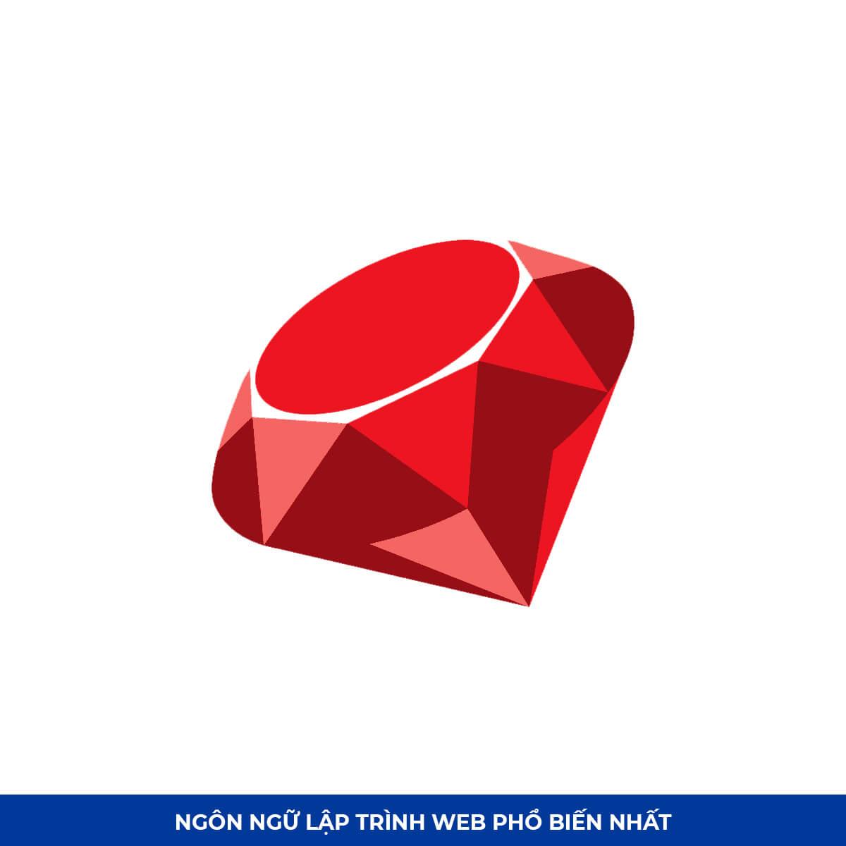 Top Ngôn ngữ lập trình web #6: Ruby