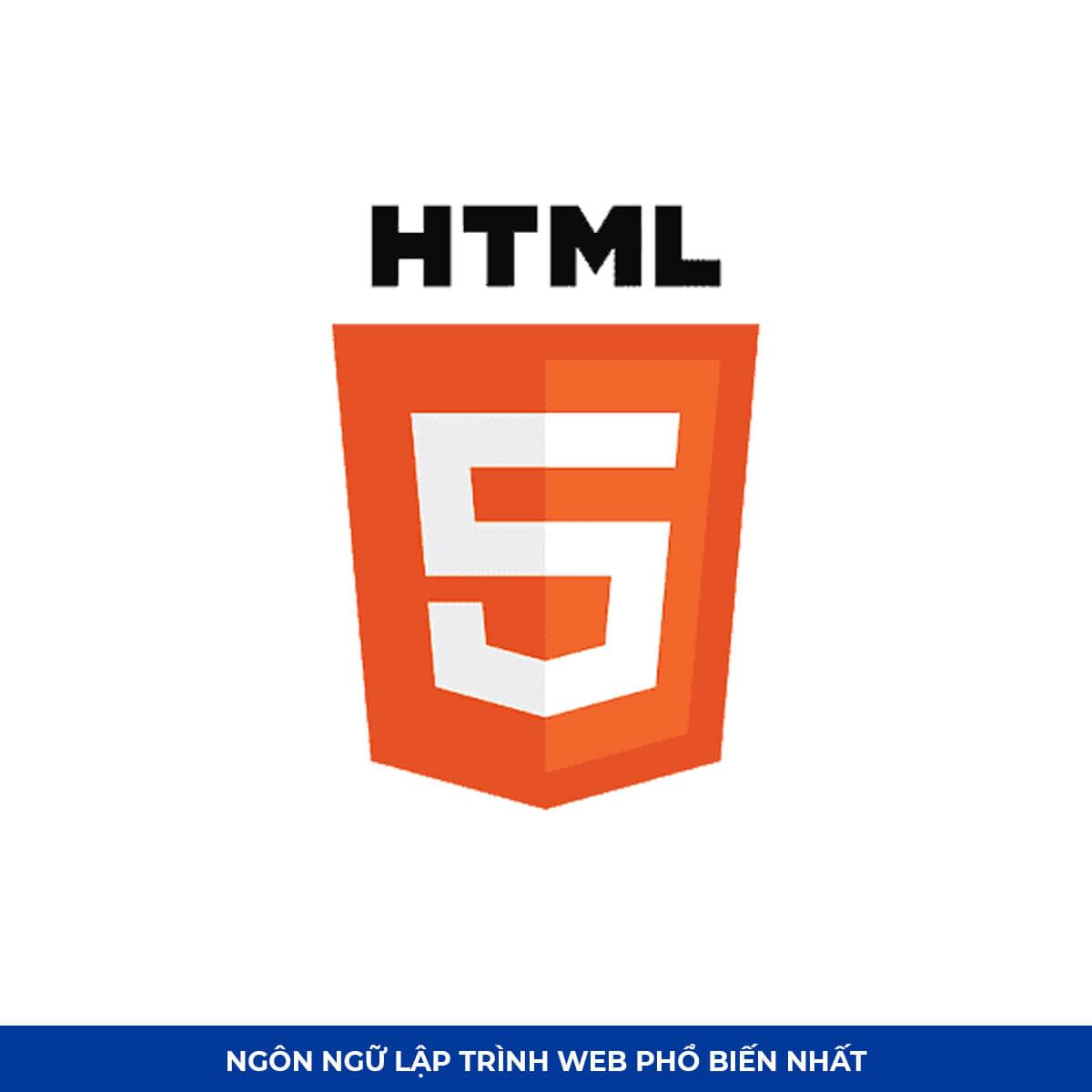 Top Ngôn ngữ lập trình web #8: HTML