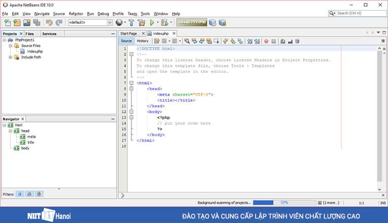Hướng dẫn cài đặt Xampp, JDK, Netbeans phiên bản mới nhất